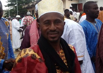 Imam Fofana de la moquée Moussa Fofana de Yopougon-Attié à Abidjan. Photo: AfrikiPresse/Yaya K.