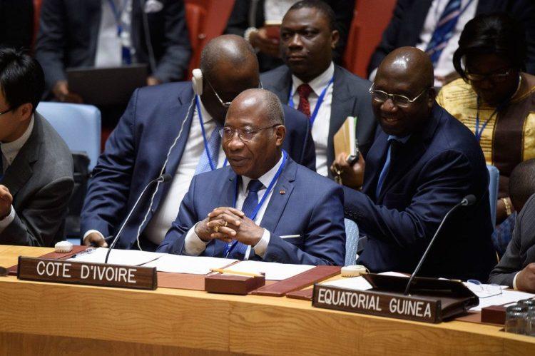 L'ambassadeur Kacou Houadja représentant de la Côte d'Ivoire aux nations unies Photo : ONU