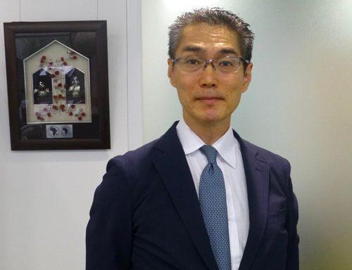 Takashi Hanajiri, directeur du Bureau de représentation extérieure pour l'Asie – Bureau de Tokyo .Photo: African Development Bank