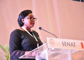 La vice-présidente du Sénat ivoirien, Makani Diaby Photo: Senat Côte d'Ivoire