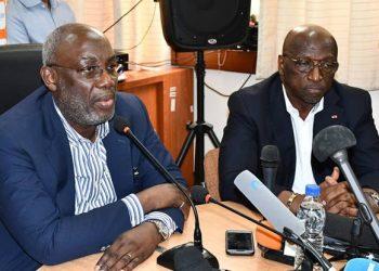 Sidy Diallo et Jacques Anouma PHoto: DR