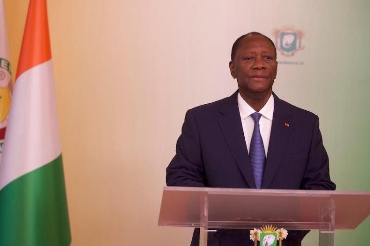 Alassane Ouattara, président ivoirien. Photo:DR
