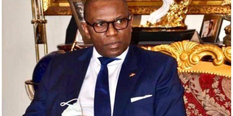 le ministre d'Etat, ministre de la coopération, intégration régionale et Francophonie, Me Pépin-Guillaume Manjolo
