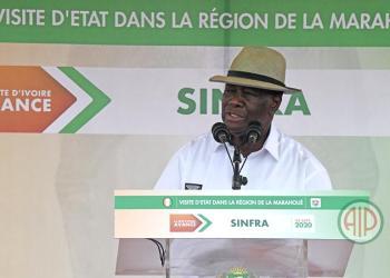 Aip: Le président Ouattara à Sinfra ( visite d'état)