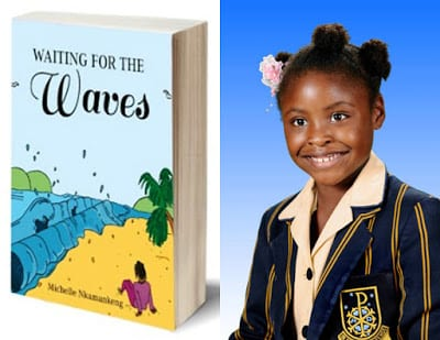 Inspiration: At 7, Michelle is the youngest writer in Africa