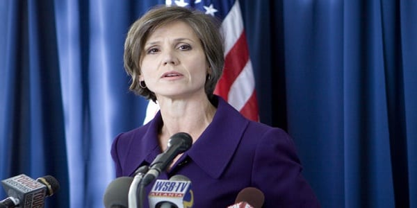 United States Attorney for the Northern District of Georgia Sally Q. Yates during a press conference concerning former Federal Judge Jack Camp. Photo by Zachary D. Porter/Daily Report 12/02/10