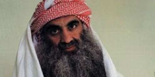 A picture posted on the website www.muslm.net on September 3, 2009 allegedly shows Al-Qaeda's Khalid Sheikh Mohammed, alleged organiser of the September 11, 2001 attacks at the Guantanamo Bay detention camp. The picture was reportedly taken by the International Committee of the Red Cross (ICRC) in July 2009 to be sent to his family. Mohammed is currently on trial and faces the death penalty on charges related to the 9/11 attacks. AFP PHOTO/MUSLM.NET == RESTRICTED TO EDITORIAL USE == / AFP PHOTO / MUSLM.NET