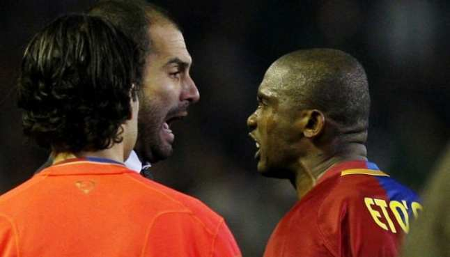 "Samuel Eto'o attacks Pep Guardiola: ""It's me who made Barcelona win"" (video)"