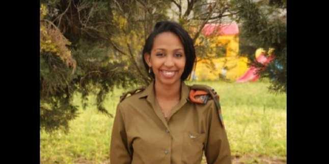 Découvrez la première et seule femme africaine à servir dans l'armée israélienne (photos)