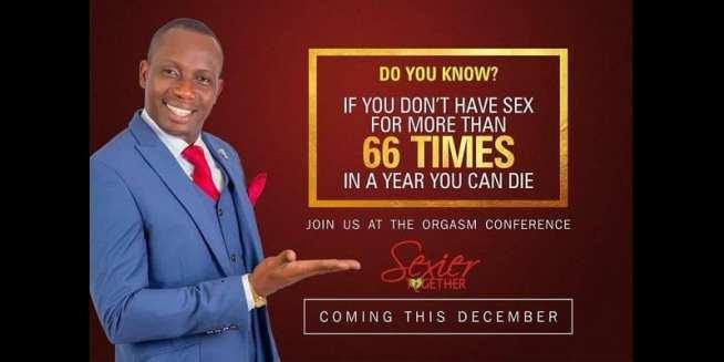 «Si vous ne faites pas l'amour plus de 66 fois par an, vous pouvez mourir», dixit un conseiller ghanéen
