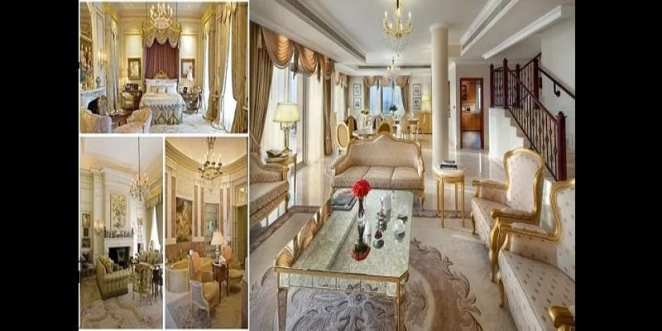 Discover in pictures the interior of the largest house in the world
