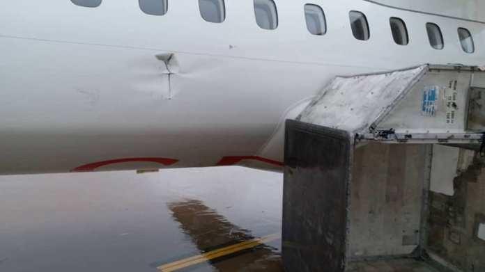 Sénégal : Un orage endommage 3 avions, l'aéroport commandite un audit (Photos)