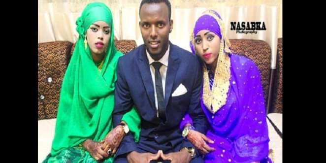 Somali: a man marries his two women the same day (video)