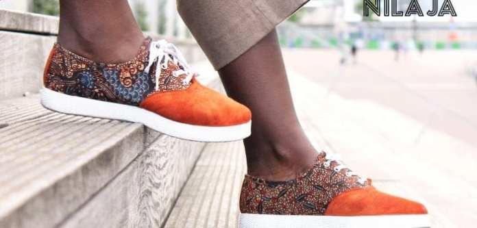 Découverte: Entre Dakar et Paris, la marque de sneakers NILAJA brille aux couleurs africaines