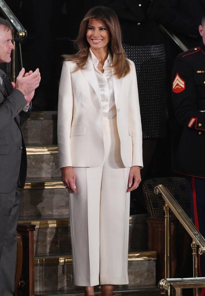 """Etats-Unis: Ces tenues de Melania pour """"punir"""" Donald Trump"""