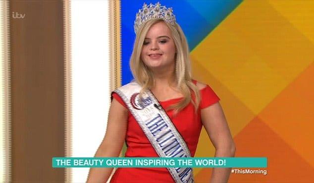 Une trisomique de 19 ans remporte un concours international de beauté