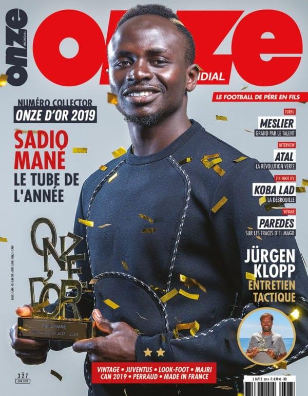 Sport: 15 ans après Didier Drogba, Sadio Mané remporte le Onze d'Or
