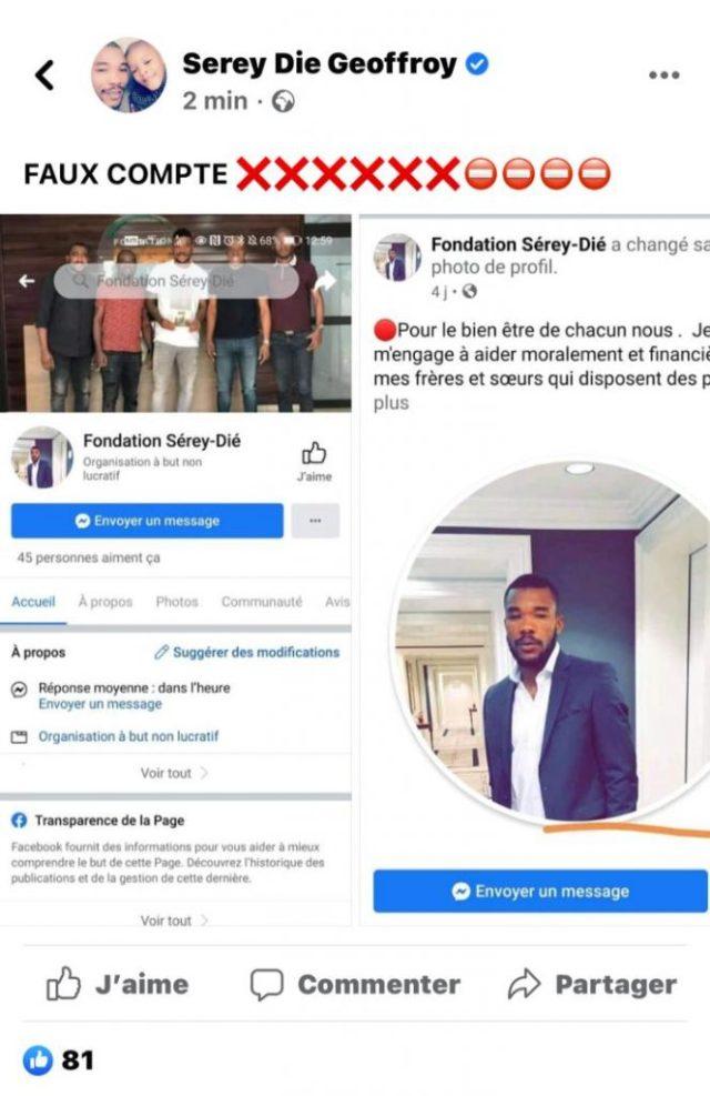 Côte d'Ivoire/ Serey Dié victime d'usurpation d'identité: le footballeur dans une colère noire