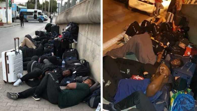 Photo of Tunisia: Incredible, the Zimbabwe rugby team sleeping on the street