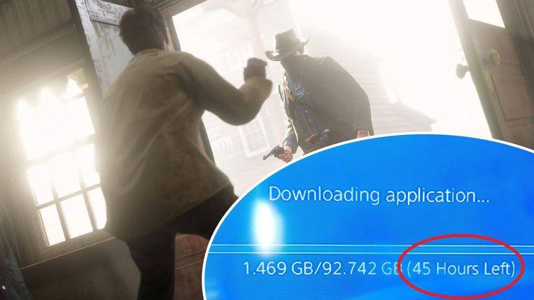 Photo of Gamers are choking on 'Red Dead Redemption II' in a long download time