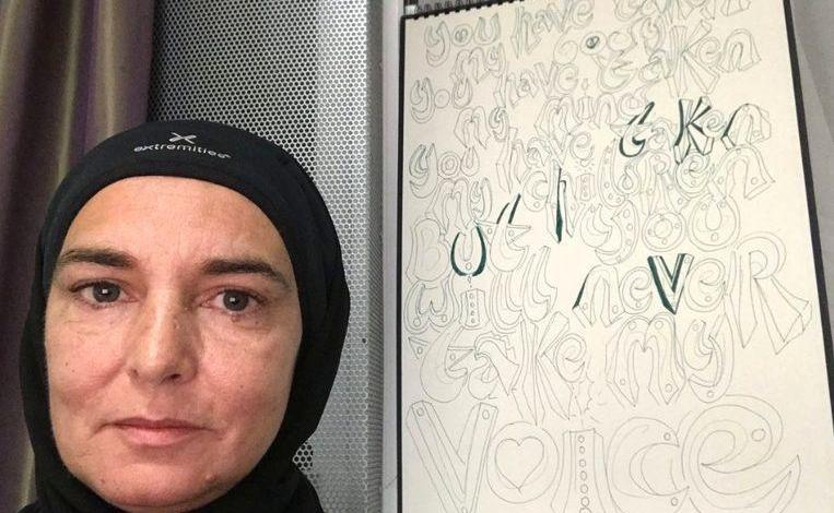 "Photo of Sinéad O'Connor no longer wants contact with whites: ""They are disgusting"""