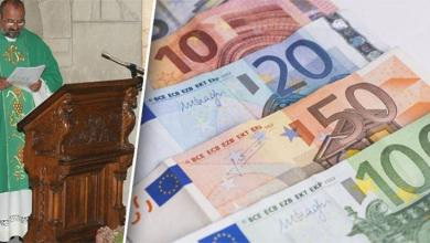 Photo of Priest steals 120,000 euros from parish greenhouse to gamble