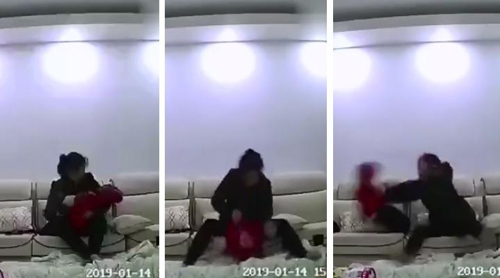 Photo of Video of babysitter physically abusing 10-month-old baby