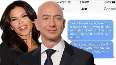 Photo of Messages from Jeff Bezos to his mistress leaked and the internet smiles