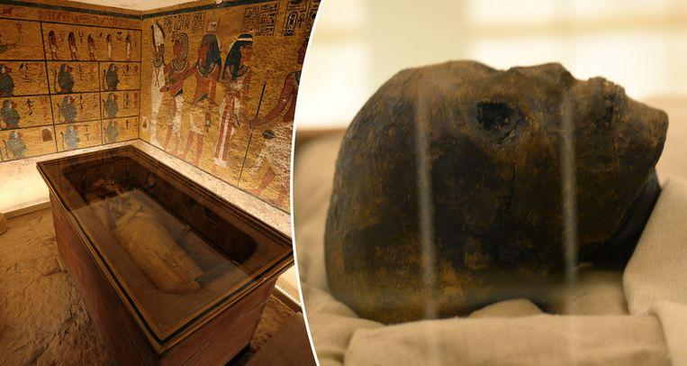 Photo of legendary pharaoh: Tutankhamun Tomb has been completely restored