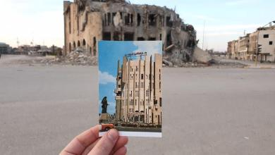 Photo of Before and after: old postcards show destruction by IS