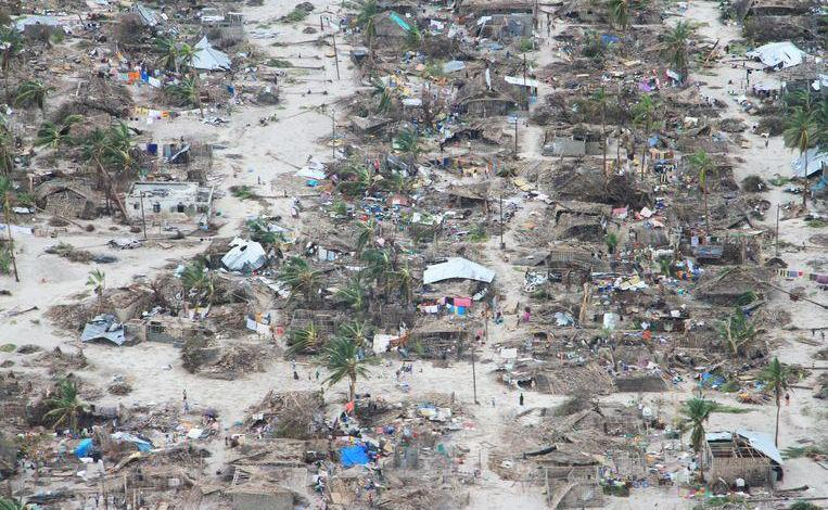 Photo of hurricane Kenneth sows death and loss in Mozambique