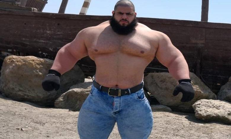 Photo of 'Iranian Hulk' who wanted to ruin IS in 2016, will enter MMA cage