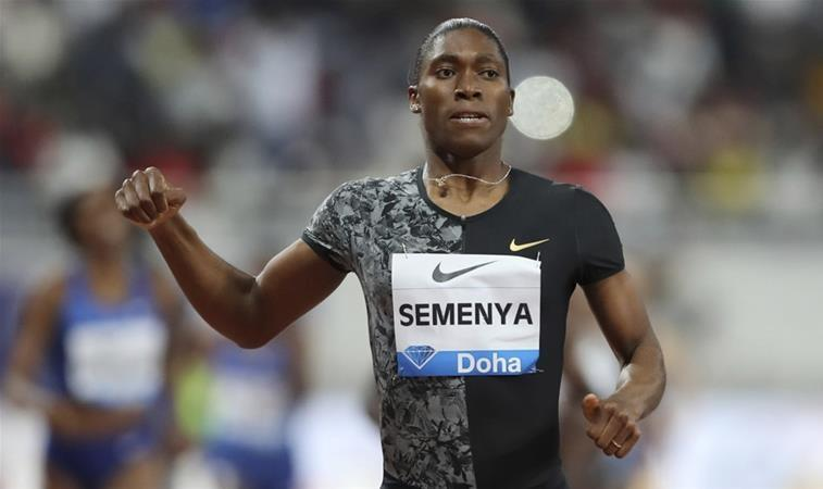 """Photo of Caster Semenya, 10 years of controversy about her gender: """"Take a good look, for me this is not a woman"""""""