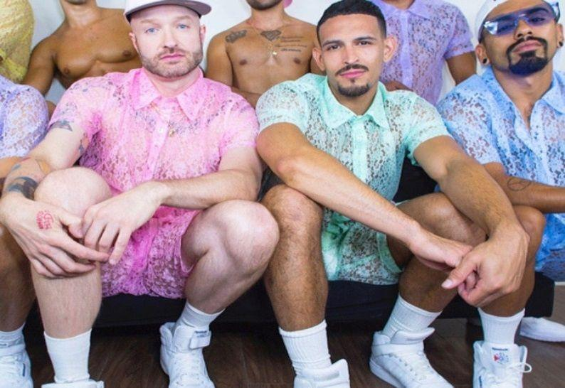 Will lace outfits be the new summer fashion for men?