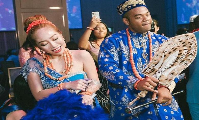 Photo of Charming photos of a Nigerian and his Taiwanese lady