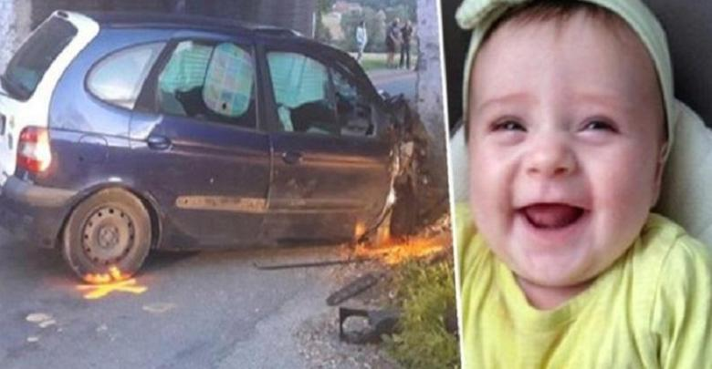 Photo of Girl (1.5) died after car accident: parents let her die alone