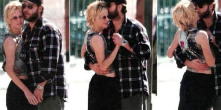 Meg Ryan and Russell Crowe were caught together.