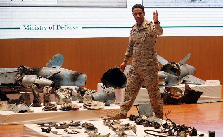 "Photo of Saudi Arabia shows ""evidence"": ""Iran is irrefutably behind attacks"""
