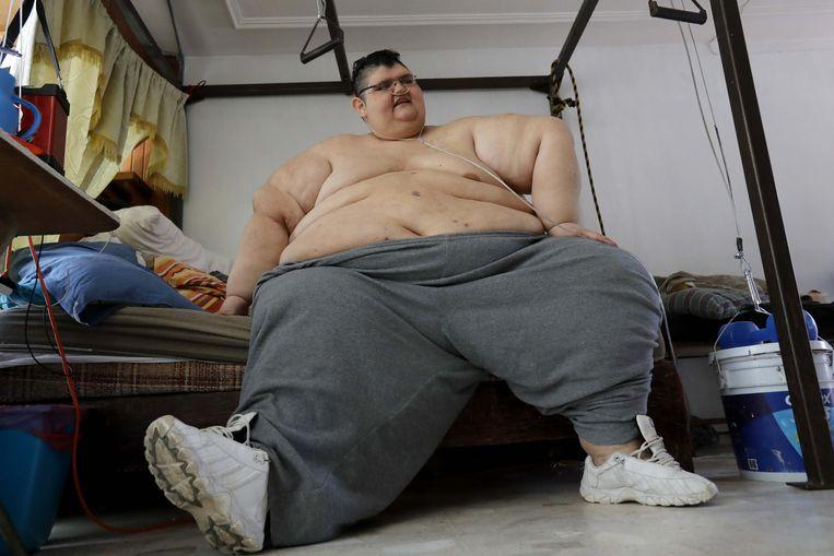 Heaviest man in the world loses 330 kilos and can finally walk again