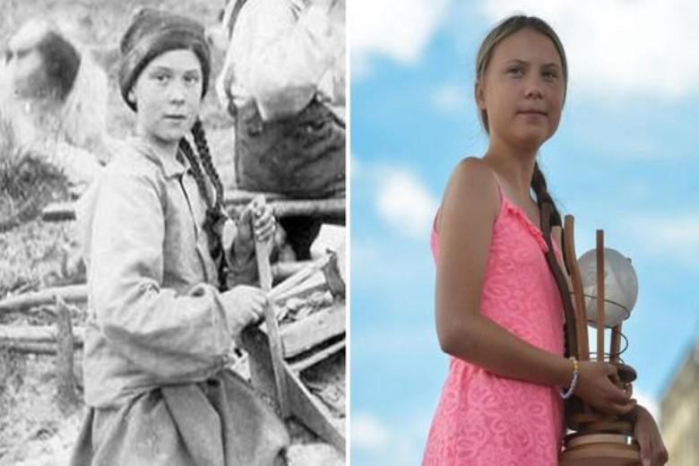 """""""Greta Thunberg is a time traveler"""": 120 year old photo leads to a fuss on social media"""