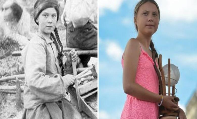 """Photo of """"Greta Thunberg is a time traveler"""": 120-year-old photo leads to a fuss on social media"""
