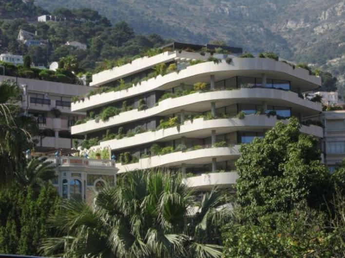 Isabel dos Santos and her husband own an apartment in this exclusive residential tower in Monaco