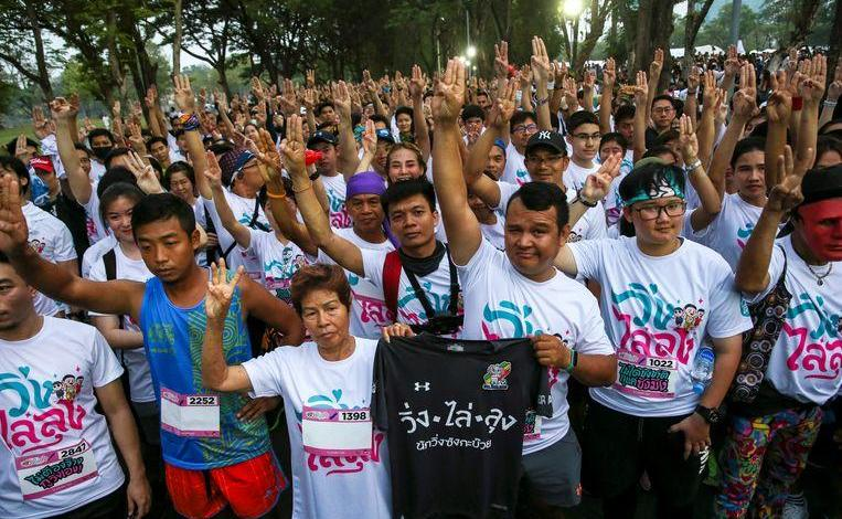 Photo of Thousands of protesters demand more democracy in Thailand