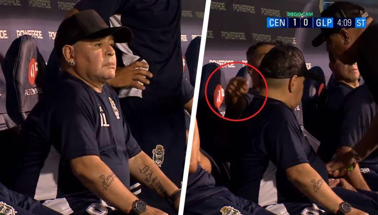 Photo of These Images of Maradona during match raise the eyebrows