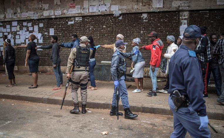Photo of South Africa deploys 70,000 troops to enforce lockdown