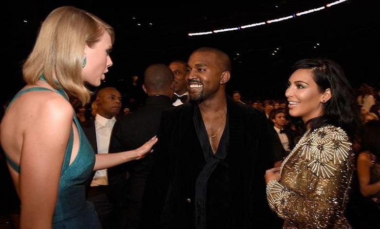 Photo of The feud between Taylor Swift and Kim & Kanye flares up again
