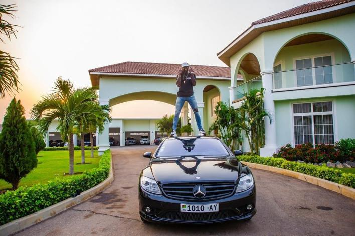 'Team Adebayor' shows off huge collection of luxury cars from striker
