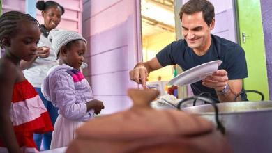 Photo of Roger Federer to feed 64,000 vulnerable young children in Africa
