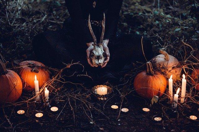 Sacrificing of animals to make dark spells.
