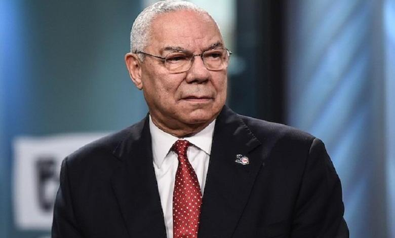 "Photo of Colin Powell to vote for Joe Biden against Trump ""who lies all the time"""